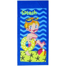 CARTOON CHARACTER PRINTS PURE COTTON BEACH BATH TOWELS FOR BOYS N GIRLS PACK OF 1