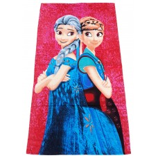 Kids Cartoon Character Printed Bath Towels Pack Of 2 Pieces
