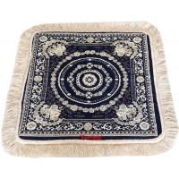 Multipurpose Velvet Rug / Super Thick Velvet Pooja Aasan / Meditation Mat / Prayer Mat - Pack of 2