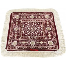 Super Thick Velvet Pooja Aasan / Meditation Mat / Prayer Mat / Multipurpose Velvet Rug - Pack of 2