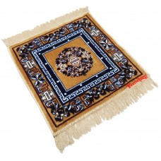 Velvet Pooja Aasan / Meditation Mat / Prayer Mat / Multipurpose Velvet Rug - Pack of 2