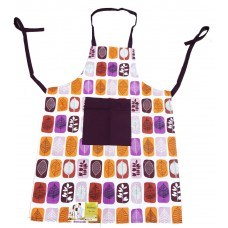 Cotton Kitchen Apron with Front Pocket -Pack of 2