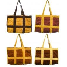 Big Size Travelling Bags in Soft Velvet Material /  Bag Set Of 2