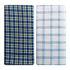 Cotton Lungi Classical Color and Checks Lungi  Pack of 2 / Best Quality Cotton
