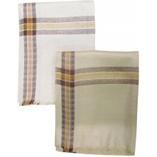 TRADITIONAL DESIGN WARM SOFT MEN'S WOOL SHAWL SET OF 2
