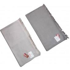 FULL SIZE SOFT MEN'S PLAIN SHAWL PURE WOOLEN LOHI / SHAWL - 106'' X 52'' - PACK OF 1