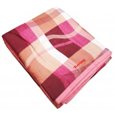 DOUBLE BED SOFT REVERSIBLE COTTON BLANKET / DOHAR / QUILT  - PACK OF 1