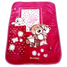 All Season Soft Mink Blanket For Babies Baby Blanket / Baby Wrapper - Pack Of 1