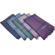 Assorted Checks High Quality Thick Woolen Single Blanket - Pack of 1
