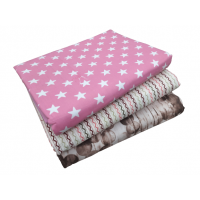 Reversible Light weight Pure Cotton Abstract Pattern Dohar/Ac Blanket For Single Bed Pack Of 1 Piece