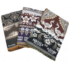 NEW AUTHENTIC SOLAPURI COTTON BLANKETS BEST DESIGNS - PACK OF 3