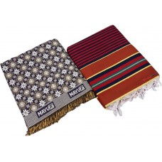 LARGE SIZE SOLAPUR BED SHEET WITH LARGE CARPET PACK OF 2 PIECES
