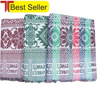 BEST QUALITY SOLAPUR CHADDAR / CARPET / GALICHA IN PURE COTTON AT OFFER RATE-SET OF 3 CHADDARS