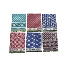 BEST QUALITY SPECIAL MAYURPANKH SOLAPURI CHADDAR CUM BLANKET IN COTTON FLORAL DESIGN - SET OF 10 CHADDARS