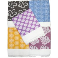 STYLISH FLORAL SOFT LIGHT WEIGHT SOLAPUR  CHADDAR CUM TOP SHEET IN PURE COTTON - PACK OF 1