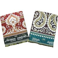 SOLAPUR CHADDAR AUTHENTIC DESIGNED 100% COTTON BLANKET PACK OF 2