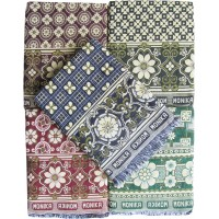 BLOCK DESIGN SPECIAL MAYURPANKH CHADDAR AT OFFER RATE - PACK OF 1