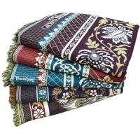 BEAUTIFUL DESIGN THICK QUALITY SOLAPUR CHADDAR  IN PURE COTTON AT DISCOUNT - PACK OF 5