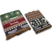 SPECIAL DESIGNER COTTON LARGE SIZE SOLAPURI CHADDAR AND REGULAR CHADDAR / SPECIAL COMBO SET-PACK OF 2
