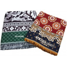 Jaquard Design Thick Quality Extra Large Solapur Chaddar / Cum Bedsheet In 100% Pure Cotton Pack Of 2