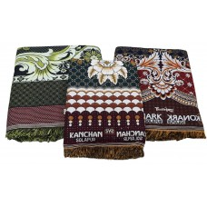 Best Quality Thick Solapur 100% Cotton 1 Jumbo, 1 Large And 1 Regular Size Chaddar / Cotton Blankets - Pack of 3