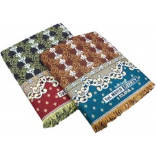 Pack Of 2 Pieces Pure Cotton Solapur Chaddar / Cum Bedsheet In Jumbo / Double Size 108*90