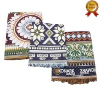 JUMBO LARGE AND SINGLE SIZE THICK SOLAPUR 100% COTTON BLANKETS / BEDSHEETS SET - PACK OF 3 CHADDARS
