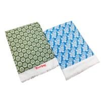 COTTON FANCY FLORAL DESIGN SOFT TOP SHEET / LIGHT WEIGHT SOLAPUR CHADDAR CUM BEDSHEET - PACK OF 2
