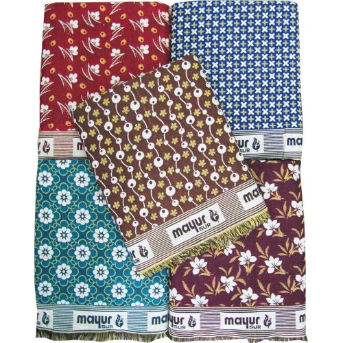 Pure Mayurpankh Solapuri Chaddar Cum Blanket In Cotton