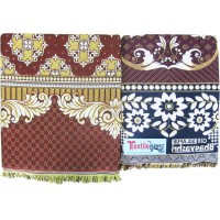 SOLAPUR CHADDAR SPECIAL COMBO SET -LARGE  AND REGULAR CHADDAR SET - PACK OF 2