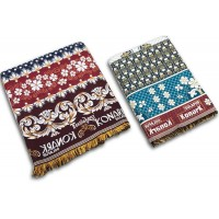 LATEST DESIGNER PURE COTTON LARGE SIZE SOLAPURI CHADDAR AND REGULAR CHADDAR / SPECIAL COMBO SET-PACK OF 2