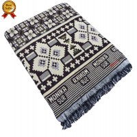ATTRACTIVE BLOCK DESIGN SPECIAL MAYURPANKH CHADDAR AT DISCOUNTED RATE - PACK OF 1