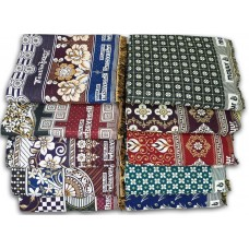 SPECIAL MAYURPANKH CHADDARS AND GALICHA DESIGN CHADDARS  IN COTTON AT DISCOUNT RATES - PACK OF 10 CHADDARS